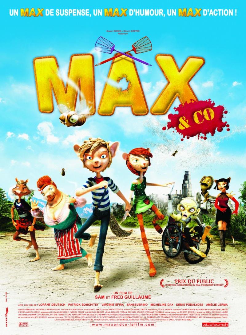 Макс и его компания. Обложка с сайта imagepost.ru