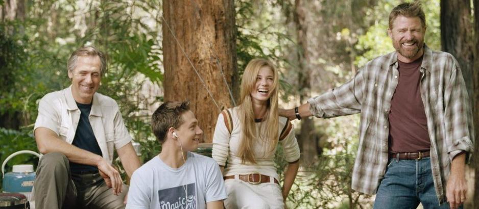 Любовь вдовца. Постер с сайта tv.com