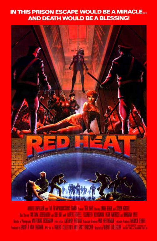 Красная жара. Обложка с сайта ozon.ru