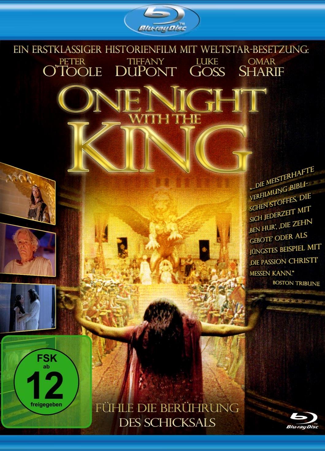 Ночь с королем. Обложка с сайта kino-govno.com