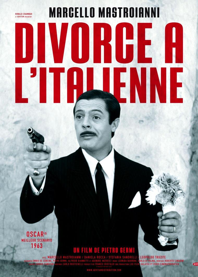 Развод по-итальянски. Обложка с сайта kinopoisk.ru