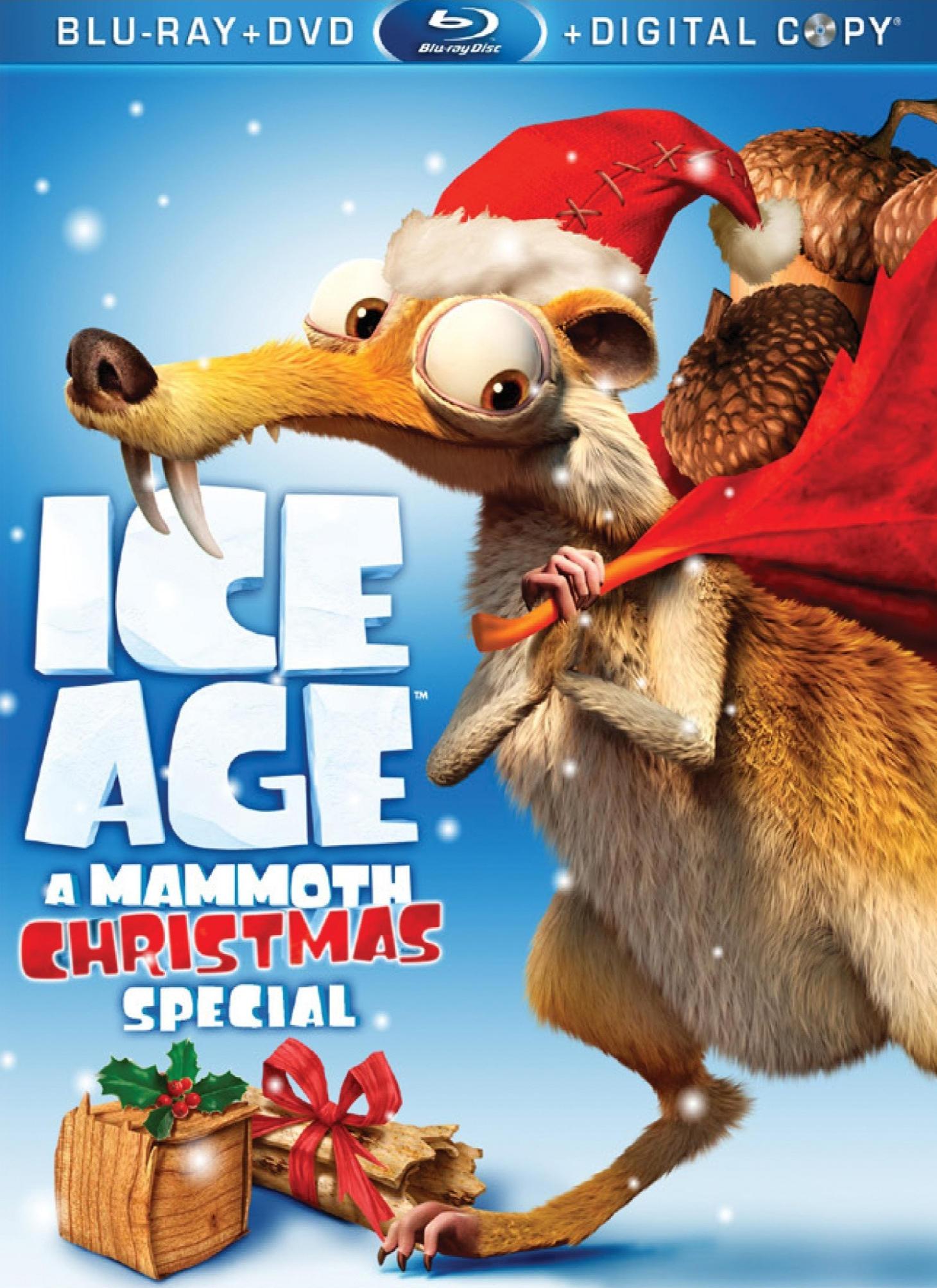 Ледниковый период: Рождество мамонта. Обложка с сайта imageshost.ru