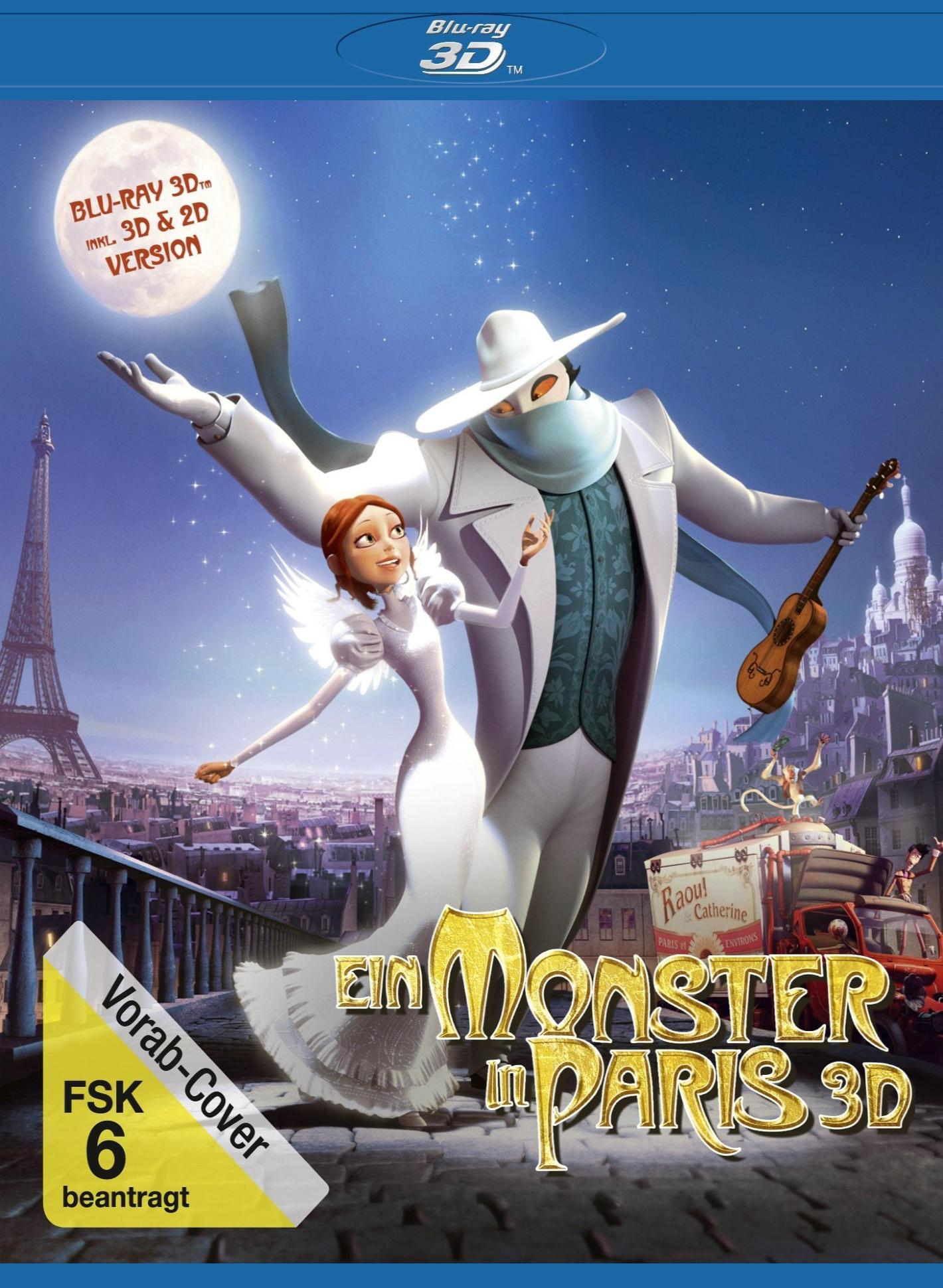 Монстр в Париже. Обложка с сайта ozon.ru