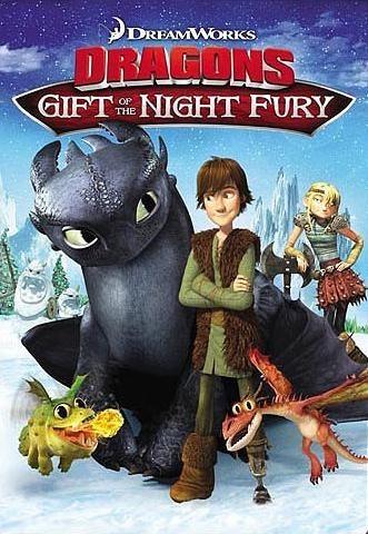 Как приручить дракона: Дар ночной фурии. Обложка с сайта ozon.ru