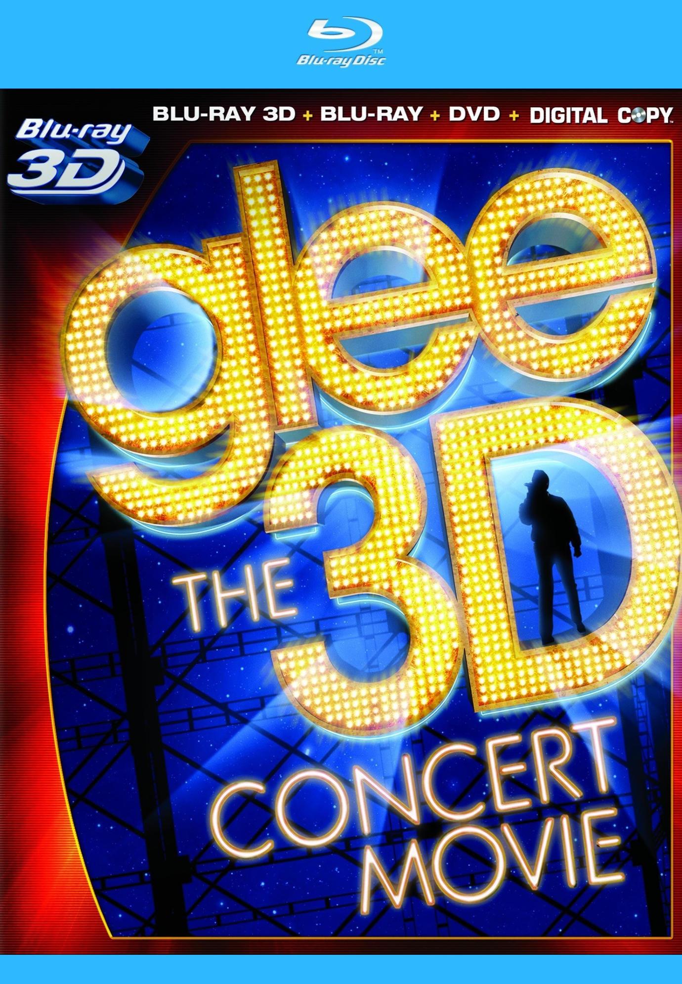 Glee. The 3D Concert Movie. Обложка с сайта ozon.ru