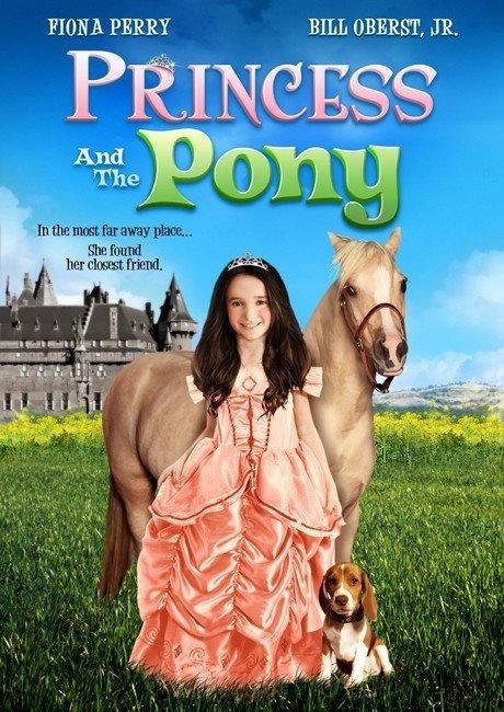 Принцесса и пони. Обложка с сайта imageshost.ru