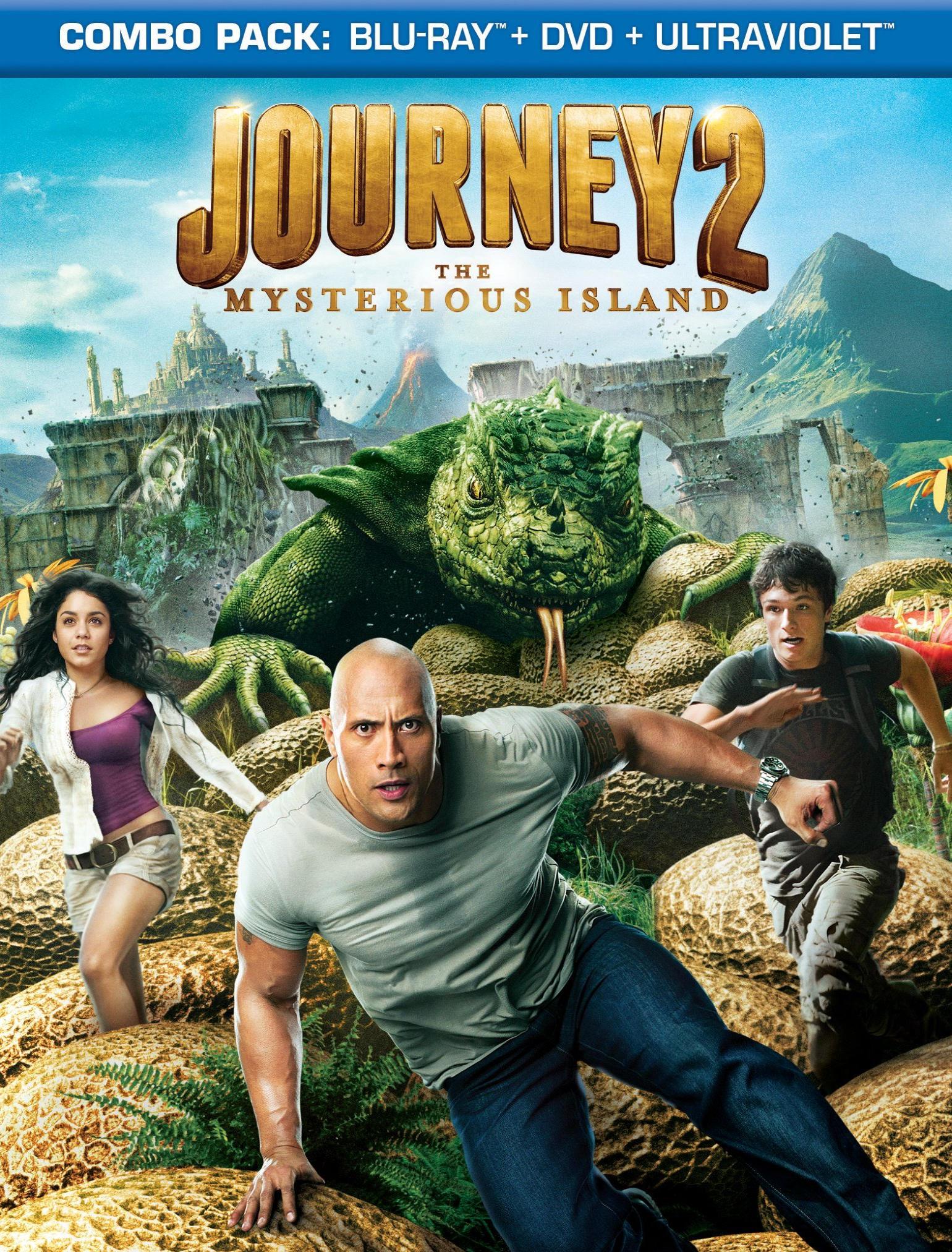 Путешествие 2: Таинственный остров. Обложка с сайта kino-govno.com