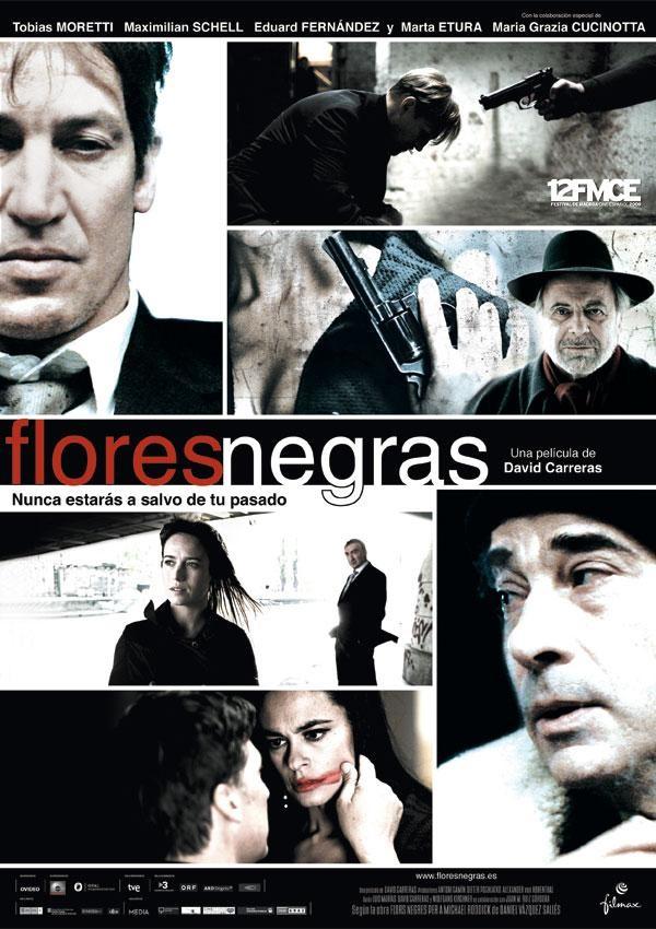 Черные цветы. Обложка с сайта bolero.ru