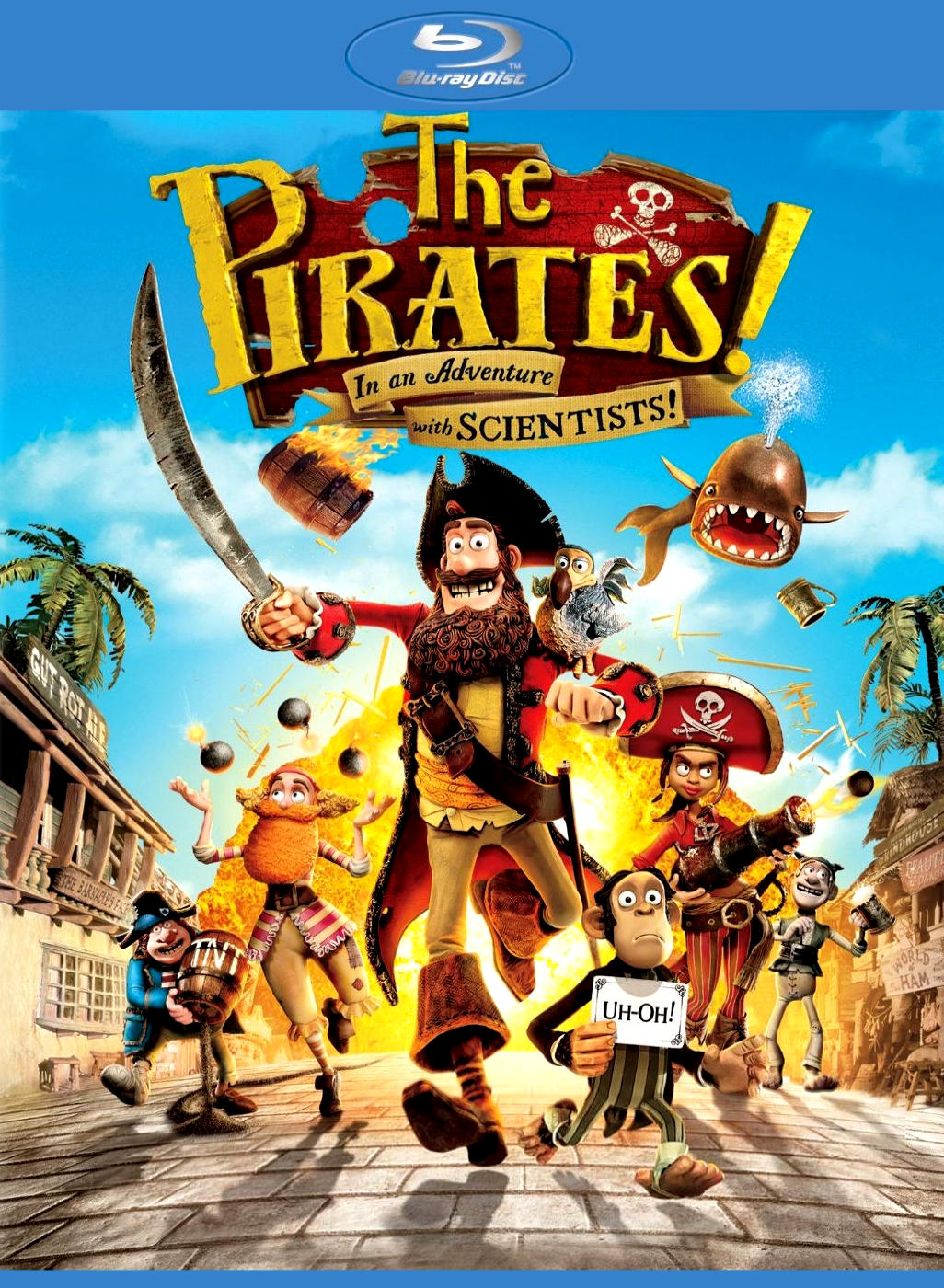 Пираты! Банда неудачников.Постер с сайта kinopoisk.ru