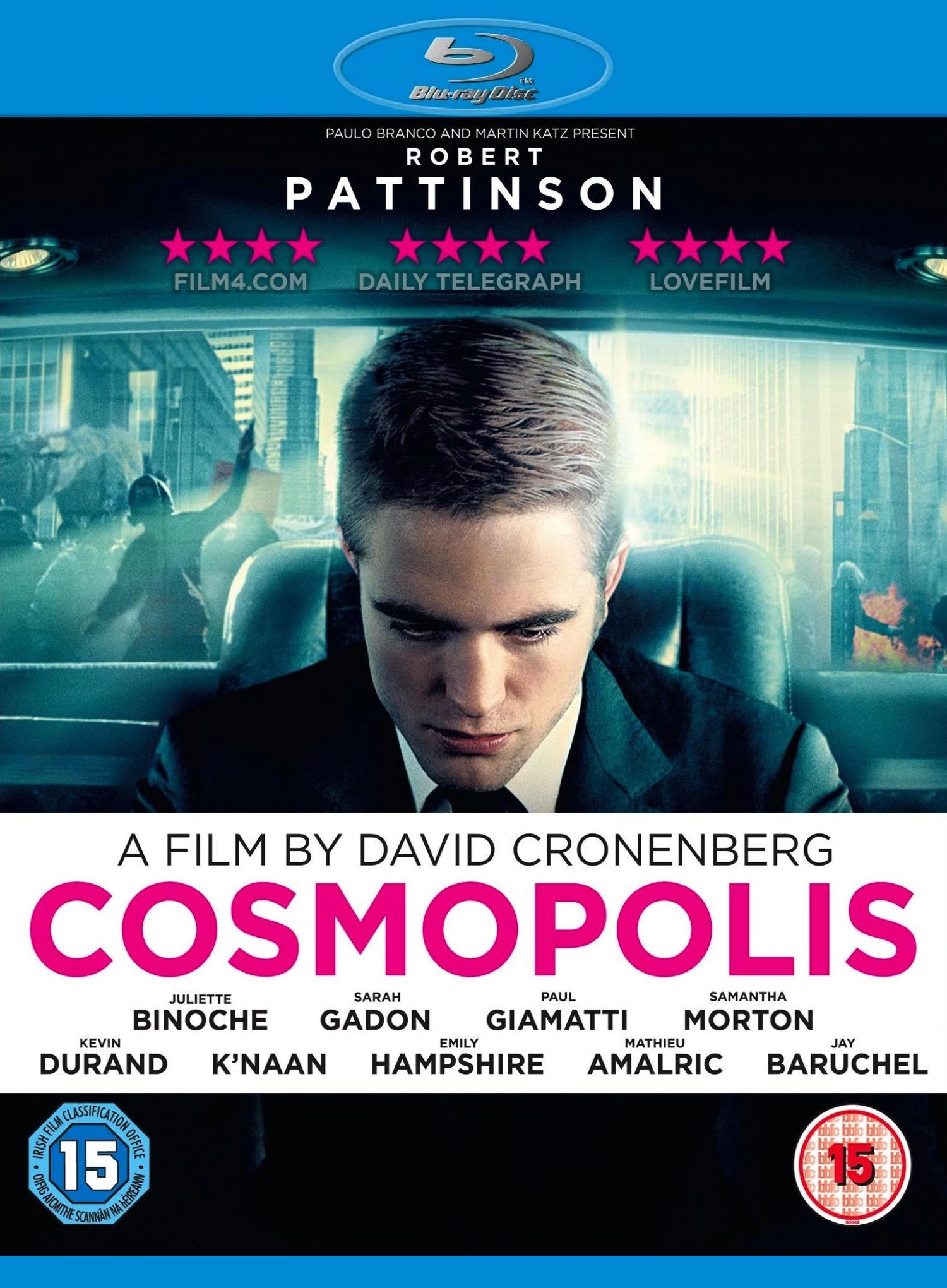 Космополис. Постер с сайта kinopoisk.ru