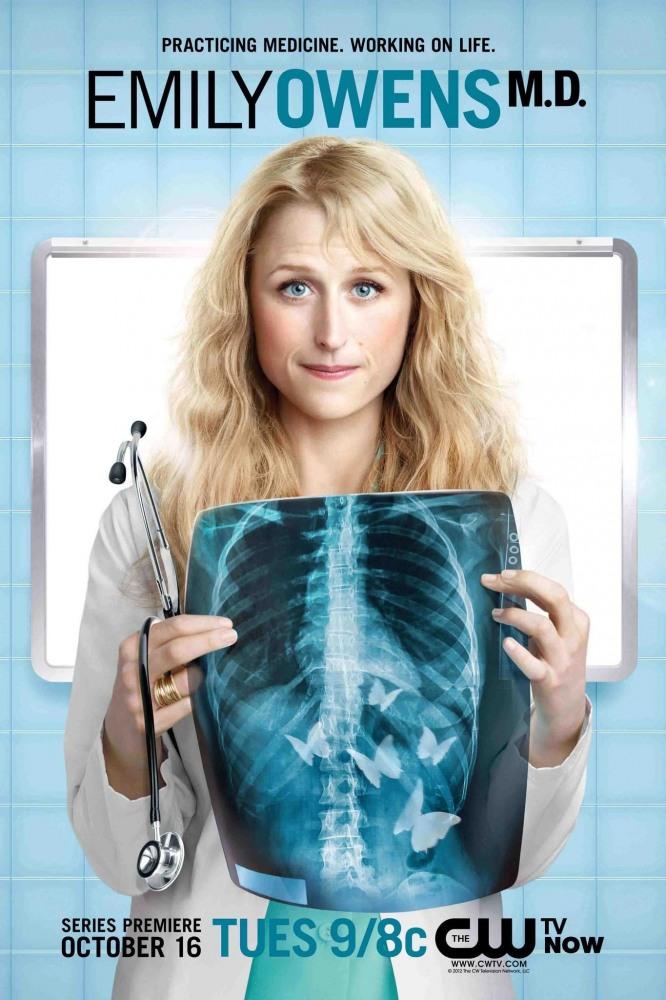 Доктор Эмили Оуэнс. Обложка с сайта kino-govno.com