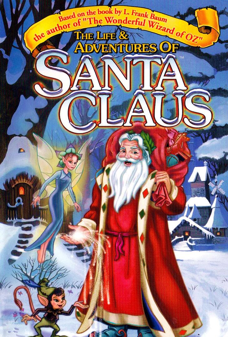 Приключения Санта Клауса. Обложка с сайта kino-govno.com