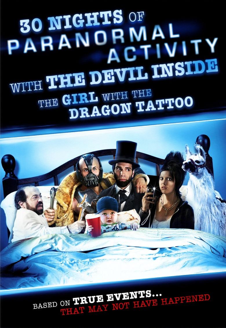 30 ночей паранормального явления с одержимой девушкой с татуировкой дракона. Обложка с сайта radikal.ru