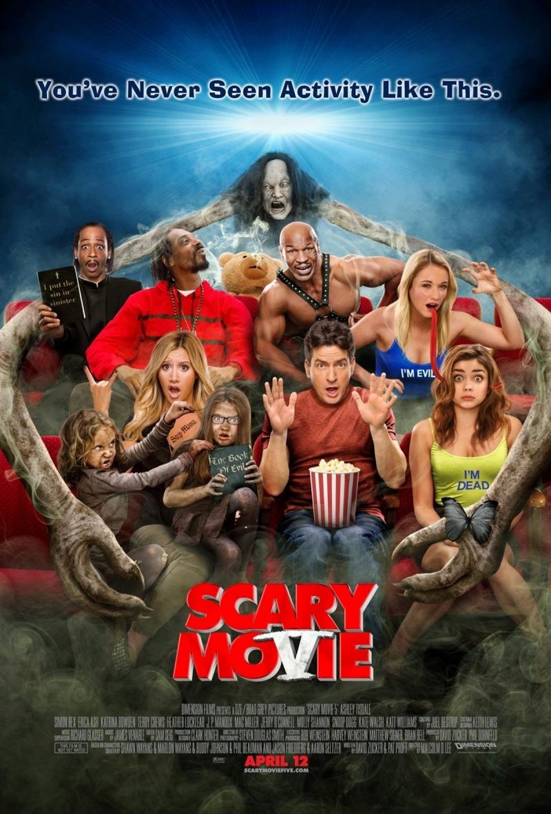 Очень страшное кино 5. Обложка с сайта kino-govno.com