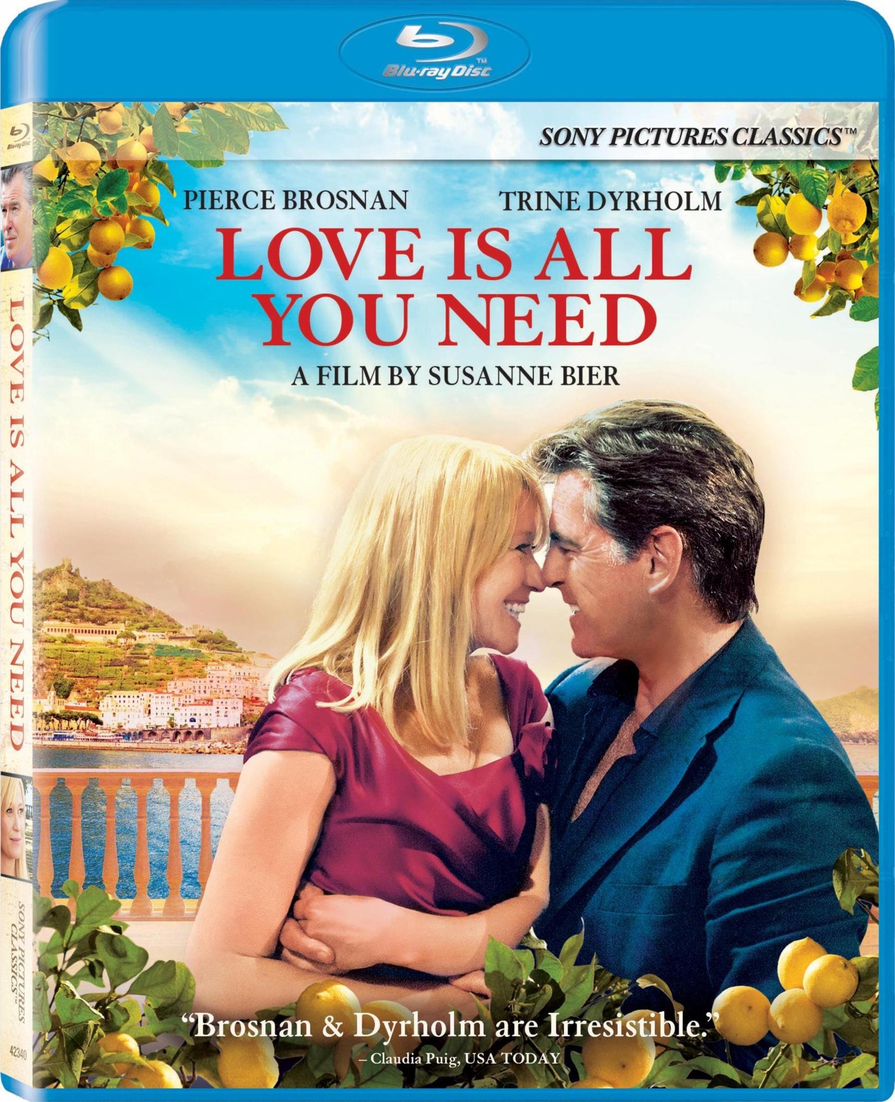 Любовь – это все, что тебе нужно. Обложка с сайта kinopoisk.ru