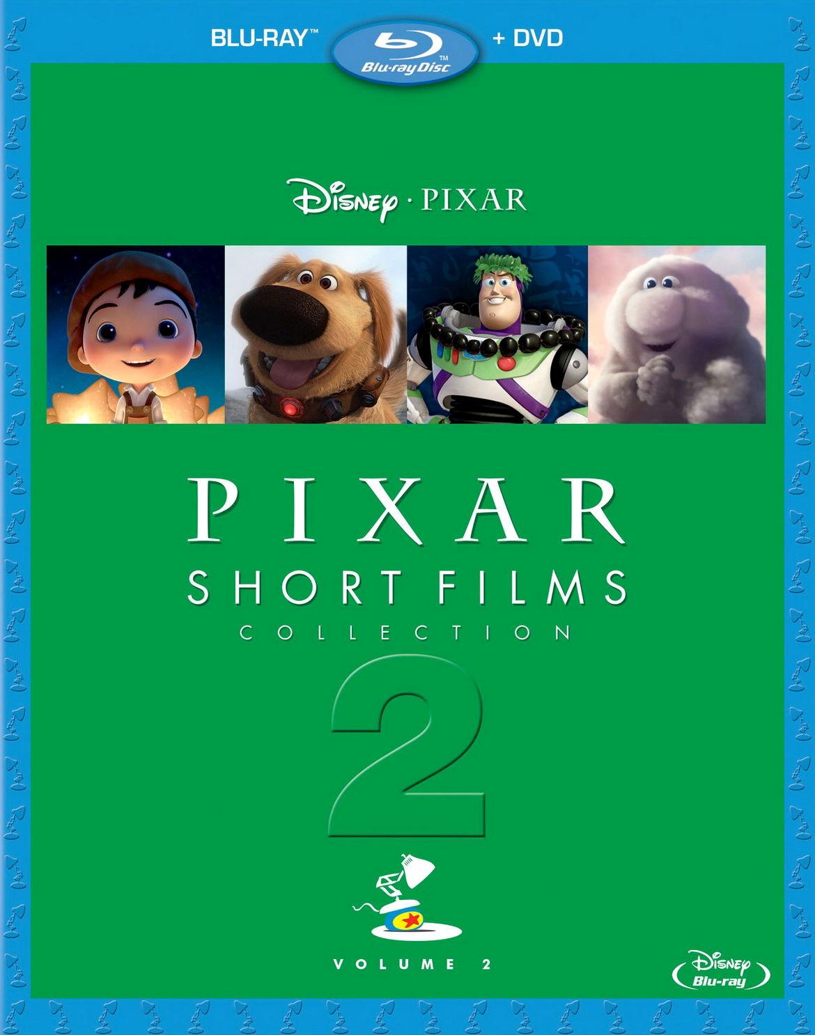 Коллекция короткометражных мультфильмов Pixar: Том 2. Обложка с сайта bolero.ru