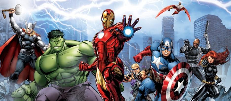 Мстители, общий сбор. Обложка с сайта radikal.ru