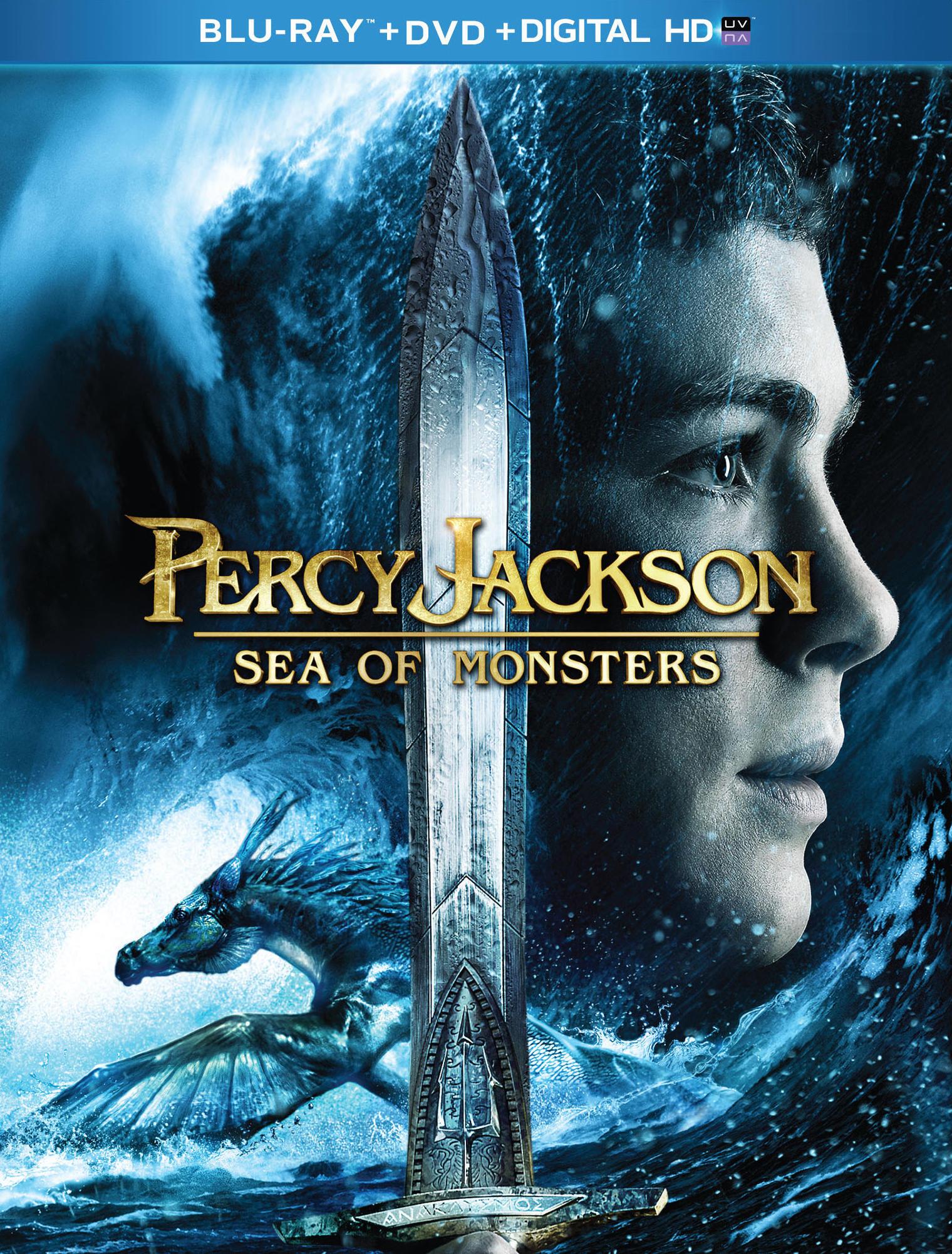 Перси Джексон и Море чудовищ. Обложка с сайта radikal.ru