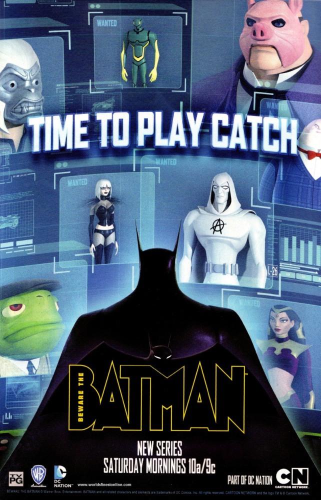 Берегитесь: Бэтмен. Обложка с сайта ipicture.ru
