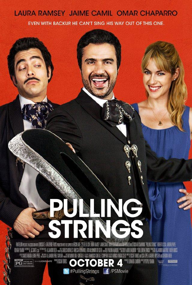 Pulling Strings. Обложка с сайта ozon.ru