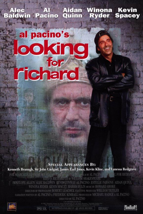 В поисках Ричарда. Обложка с сайта kino-govno.com