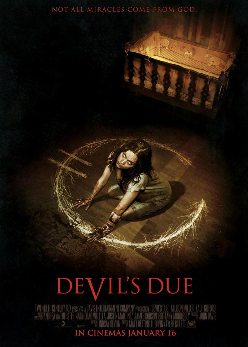 Пришествие Дьявола. Обложка с сайта kino-govno.com