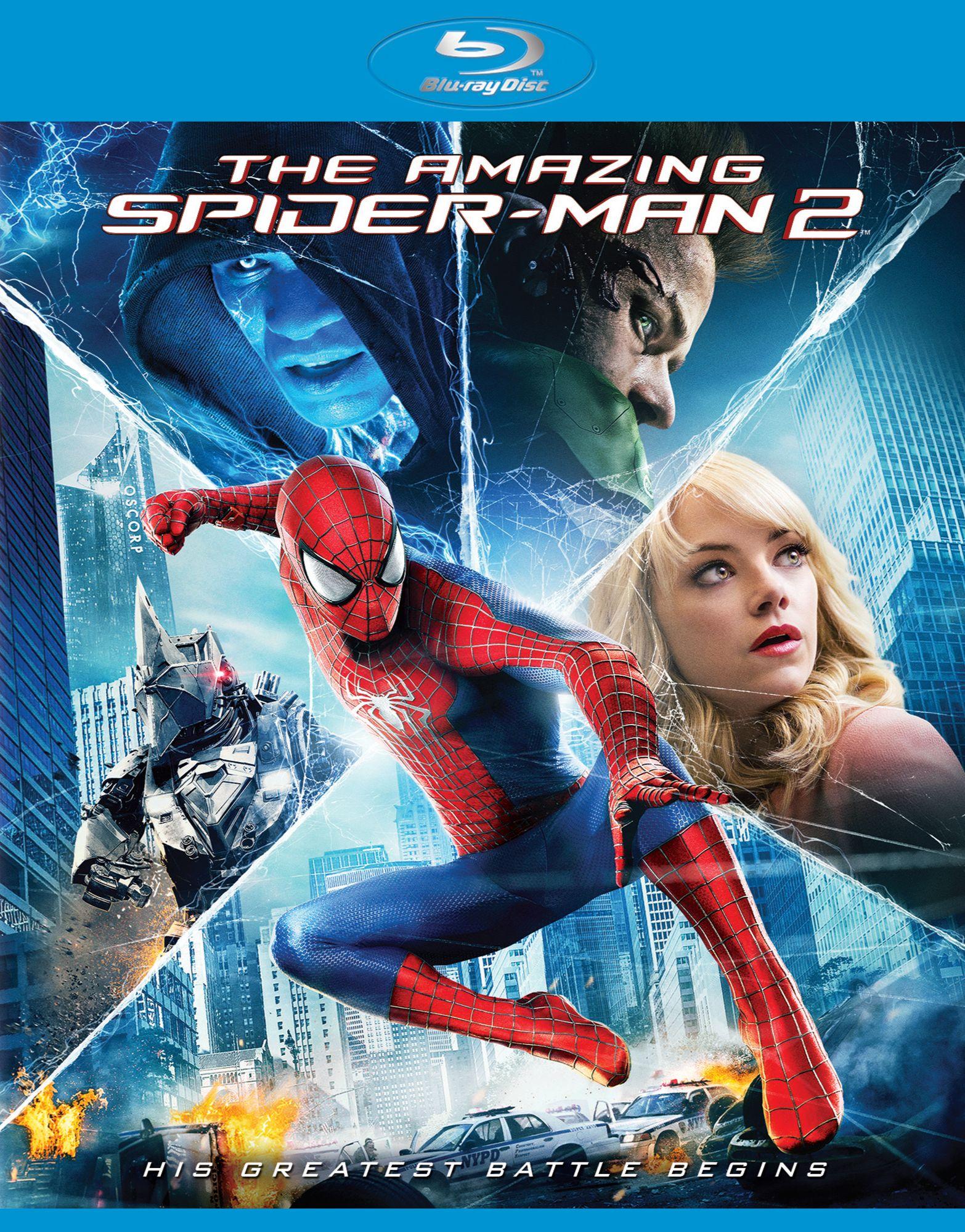 Новый Человек-паук: Высокое напряжение. Обложка с сайта imagepost.ru