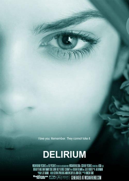 Делириум. Обложка с сайта bolero.ru