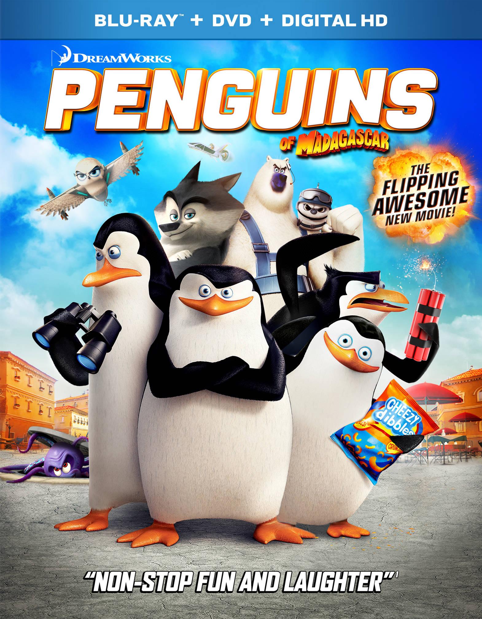 Пингвины Мадагаскара. Обложка с сайта bolero.ru