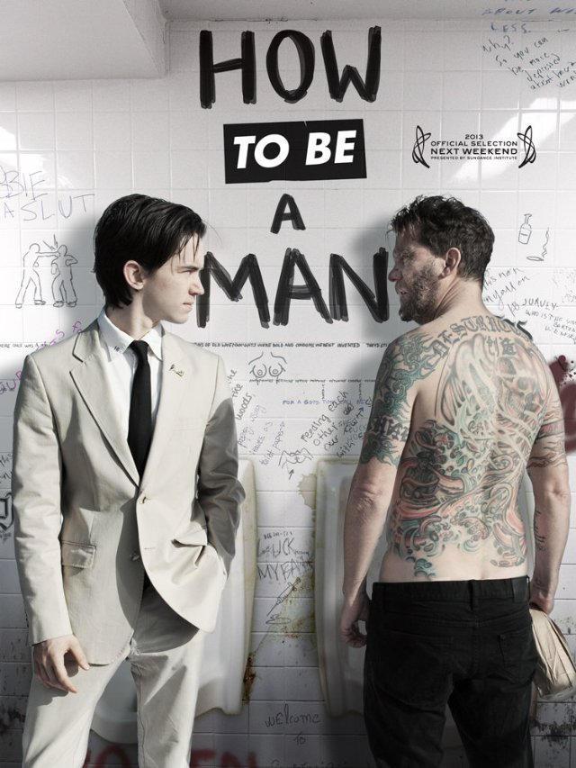 Как быть мужиком. Обложка с сайта kino-govno.com