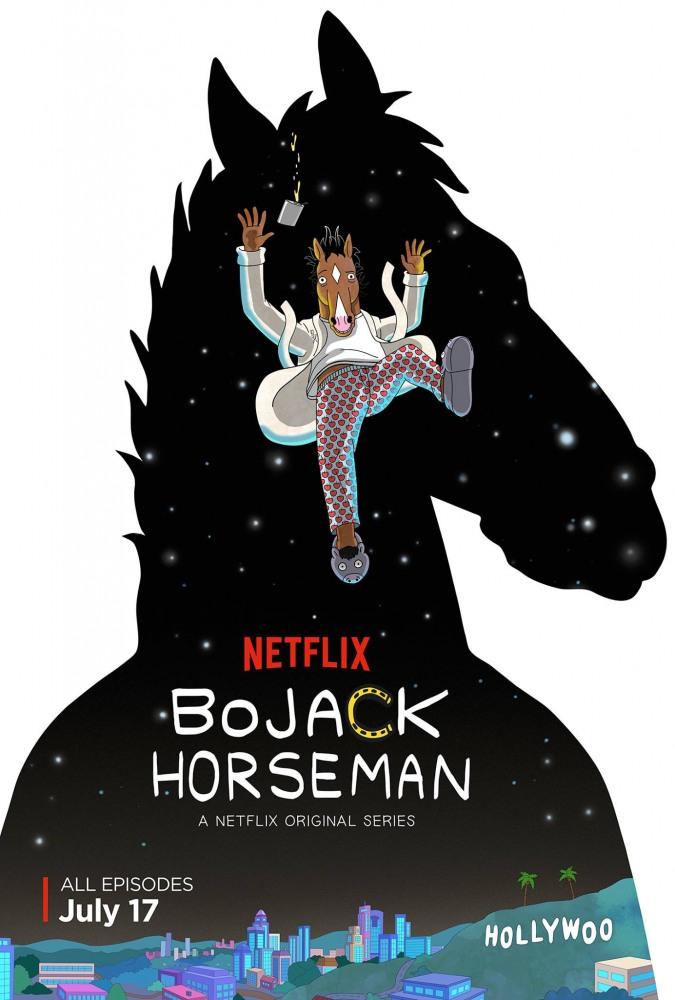 Конь БоДжек. Обложка с сайта bolero.ru