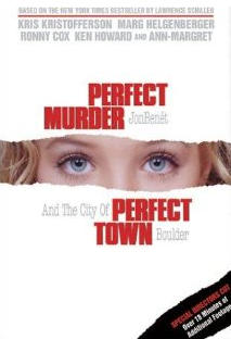 Идеальное убийство, идеальный город. Обложка с сайта ozon.ru