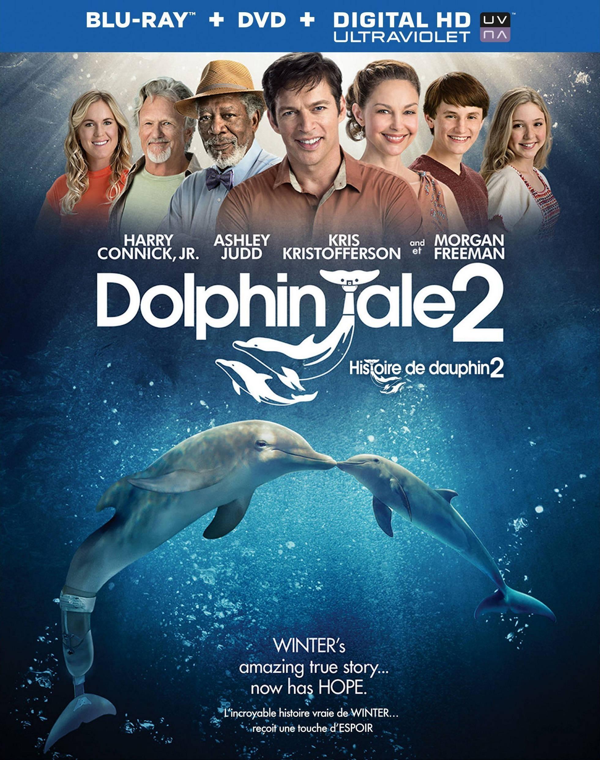 История дельфина 2. Обложка с сайта kino-govno.com