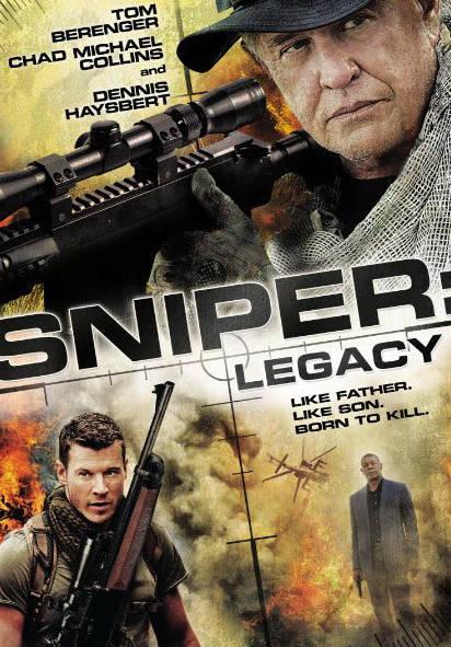 Снайпер: Наследие. Обложка с сайта bolero.ru