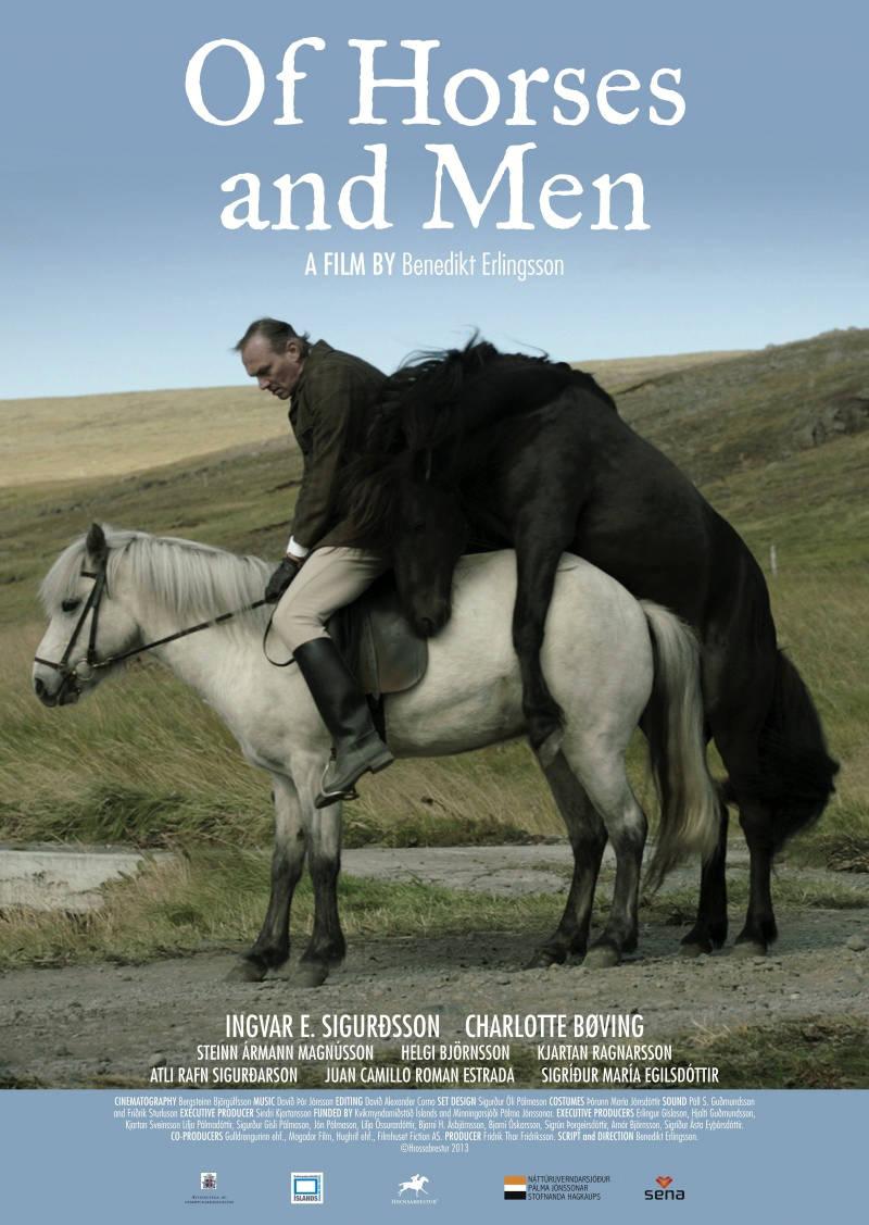 О лошадях и людях. Обложка с сайта imageshost.ru