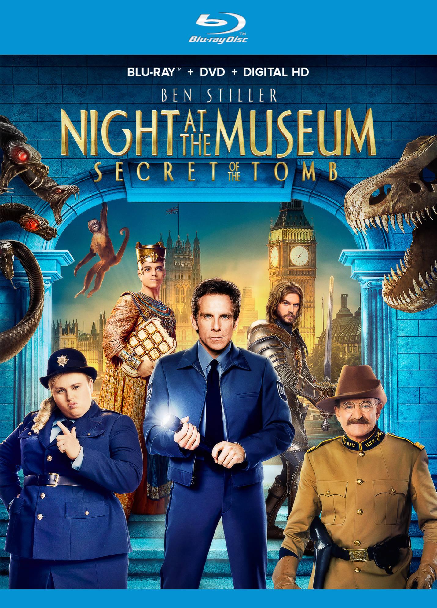 Ночь в музее: Секрет гробницы. Обложка с сайта bolero.ru