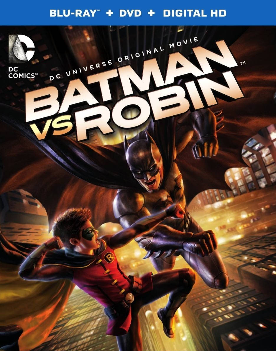 Бэтмен против Робина (видео). Обложка с сайта kinopoisk.ru