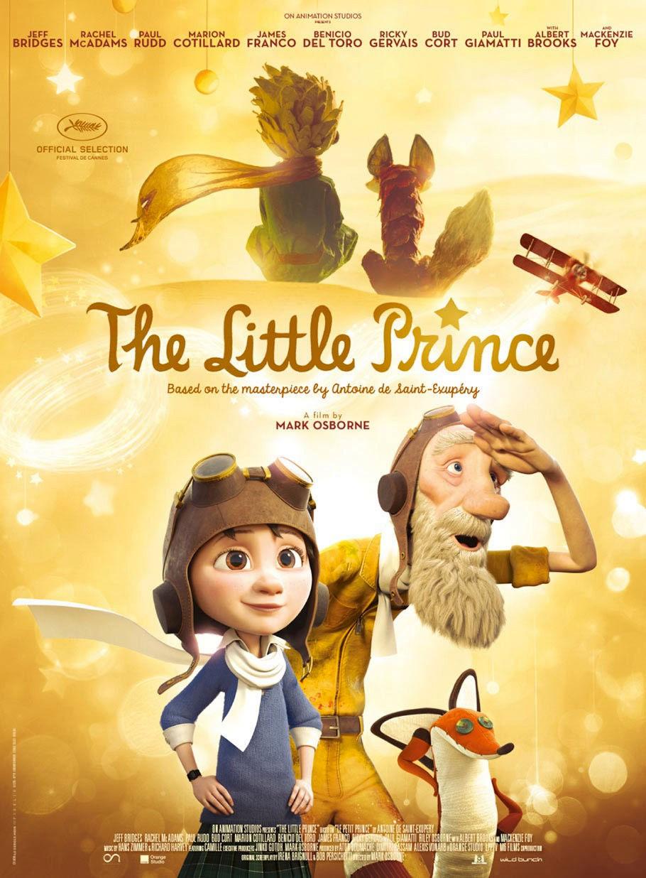 Маленький принц. Обложка с сайта ozon.ru