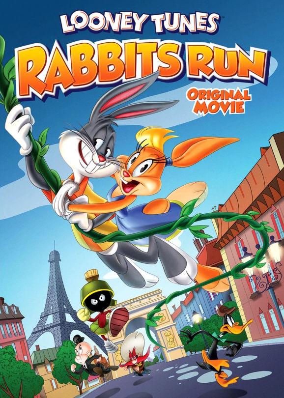 Луни Тюнз: Кролик в бегах. Обложка с сайта kino-govno.com