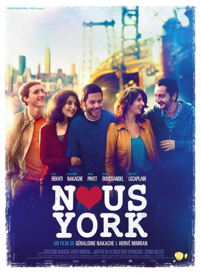 Приключения французов в Нью-Йорке. Обложка с сайта kino-govno.com