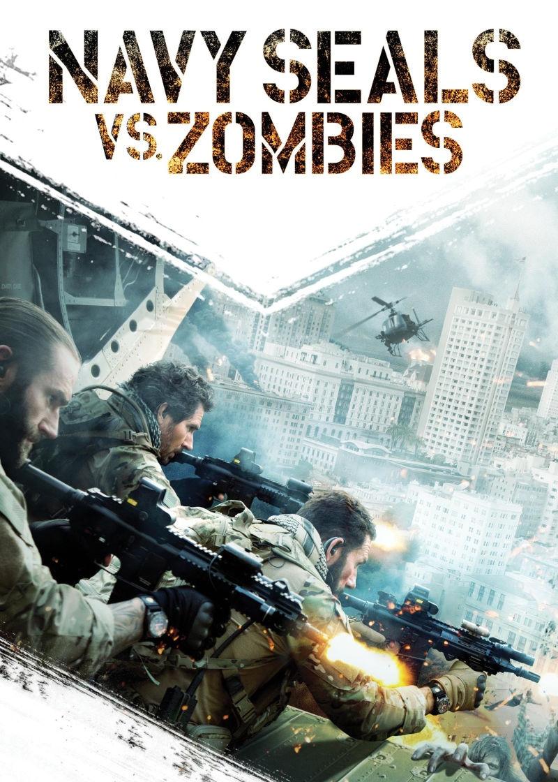 Морские котики против зомби. Обложка с сайта ozon.ru