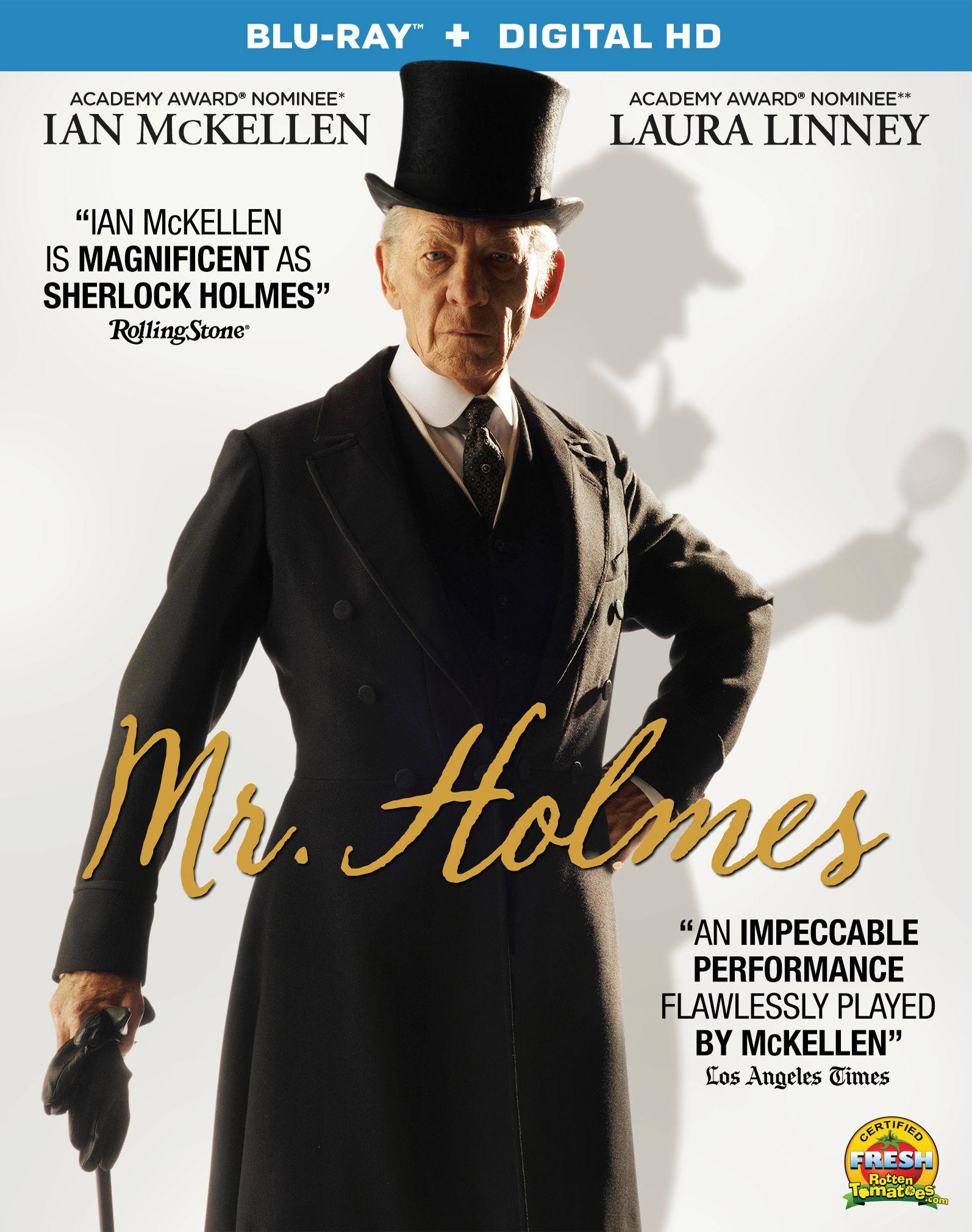 Мистер Холмс. Обложка с сайта kinopoisk.ru