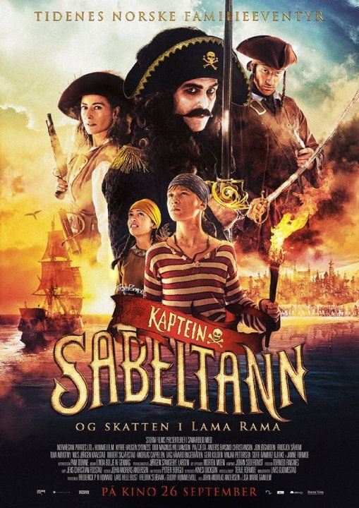 Капитан Саблезуб и сокровища Лама Рама. Обложка с сайта keep4u.ru