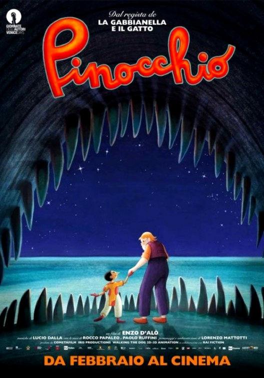 Пиноккио. Обложка с сайта ozon.ru