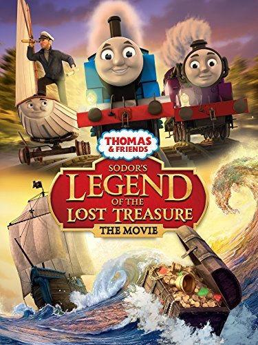 Томас и его друзья: Легенда Содора о пропавших сокровищах. Обложка с сайта imageshost.ru