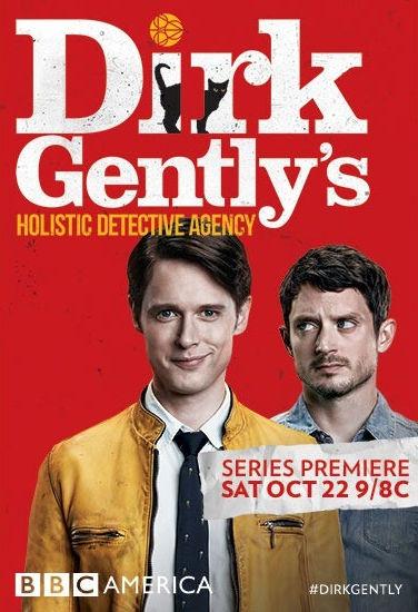 Детективное агентство Дирка Джентли. Обложка с сайта imagepost.ru