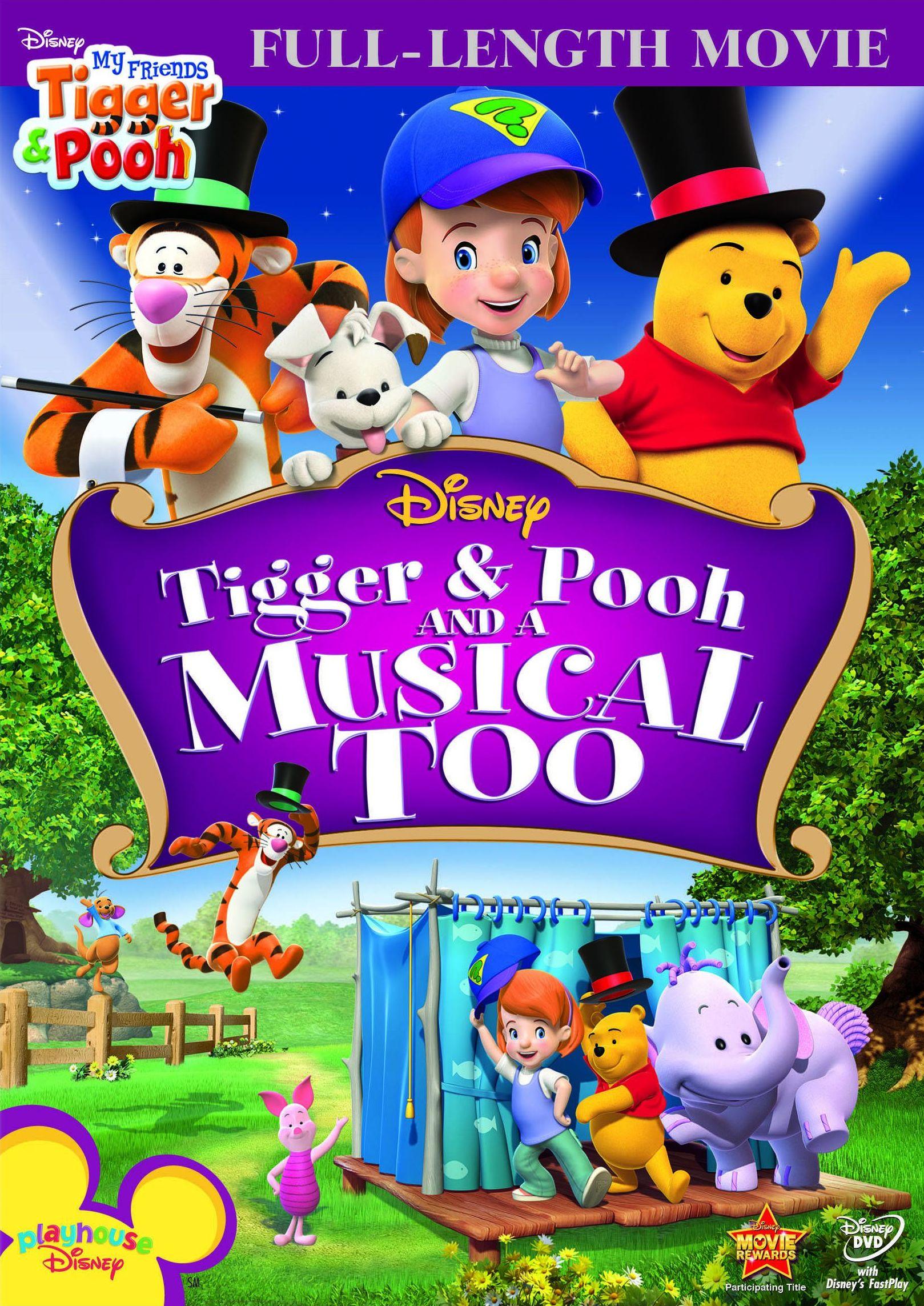 Мои друзья Тигруля и Винни: Мюзикл Большого леса. Обложка с сайта ozon.ru