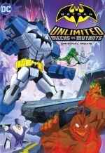 Безграничный Бэтмен: Роботы против мутантов. Обложка с сайта kino-govno.com