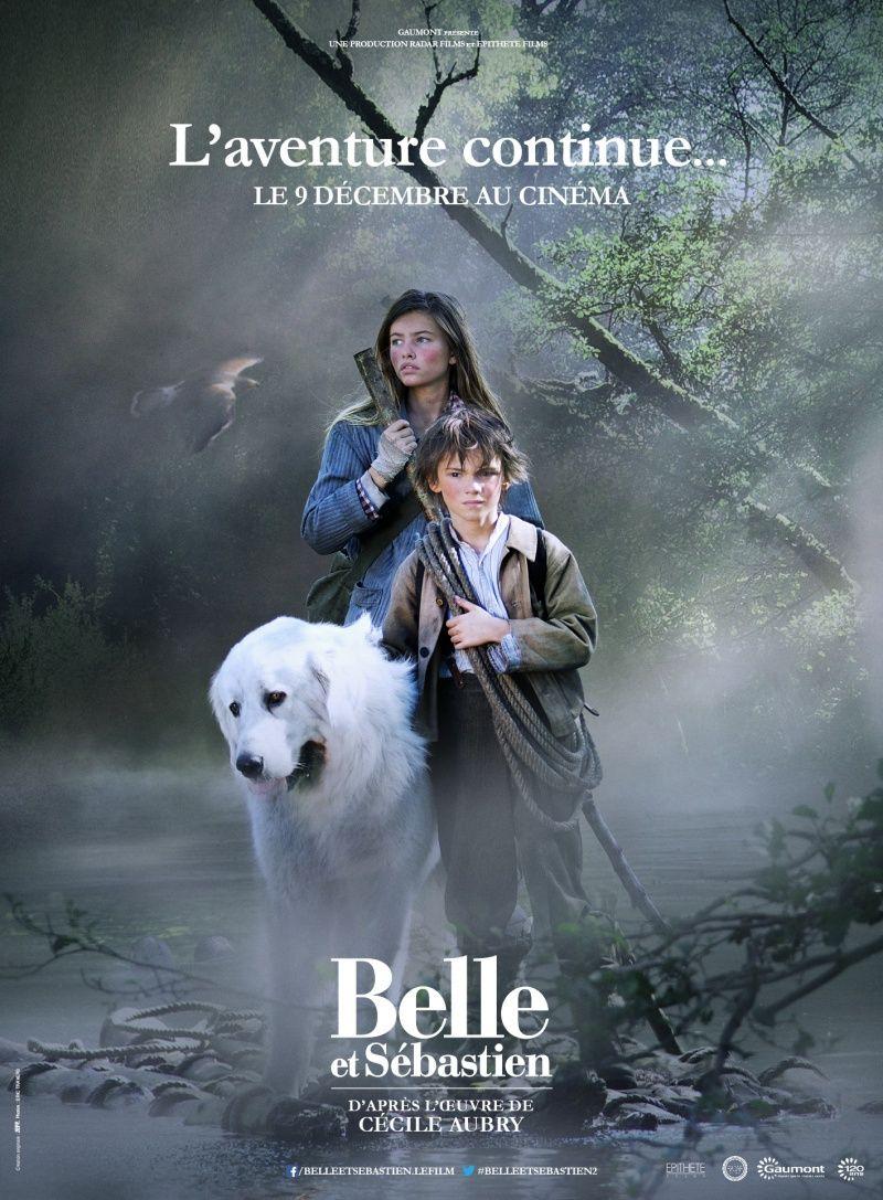 Белль и Себастьян, приключение продолжается. Обложка с сайта ipicture.ru