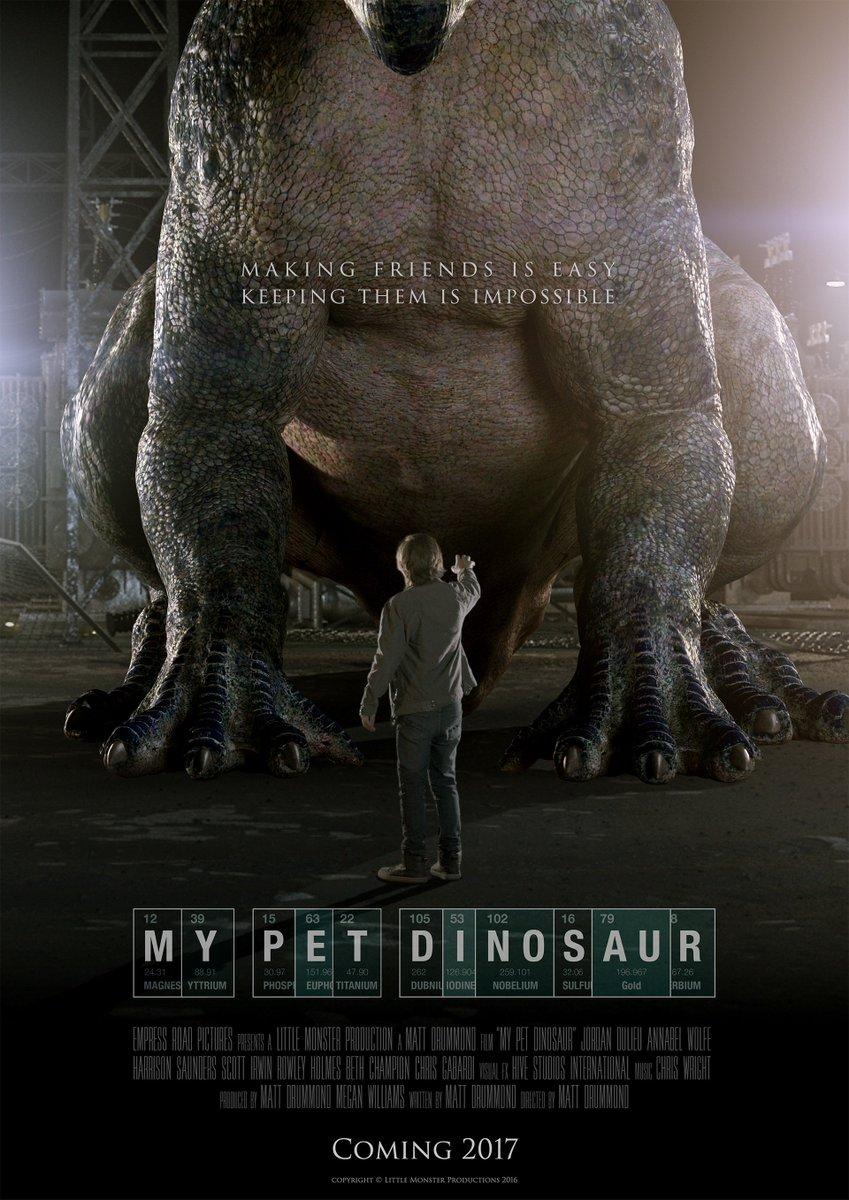 Мой любимый динозавр. Обложка с сайта kino-govno.com